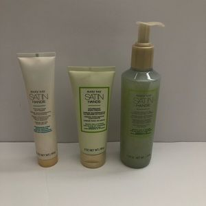 Mary Kay Satin Hands Full Size Pampering Set